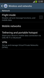 Samsung I9505 Galaxy S IV LTE - Network - Change networkmode - Step 6