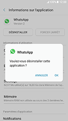 Samsung Galaxy A3 (2017) (A320) - Applications - Supprimer une application - Étape 7