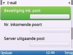 Nokia E5-00 - E-mail - handmatig instellen - Stap 16