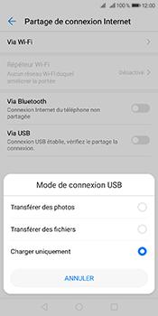 Huawei Y6 (2018) - Internet et connexion - Utiliser le mode modem par USB - Étape 6