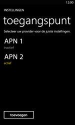 Nokia Lumia 820 LTE - Internet - handmatig instellen - Stap 23