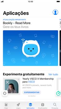 Apple iPhone 8 Plus - iOS 12 - Aplicações - Como pesquisar e instalar aplicações -  6