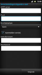 Sony LT26i Xperia S - E-mail - Handmatig instellen - Stap 13