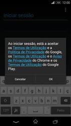 Sony Xperia M2 - Email - Adicionar conta de email -  8