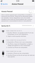 Apple iPhone 7 - iOS 12 - Wi-Fi - Como usar seu aparelho como um roteador de rede wi-fi - Etapa 6