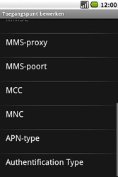 Samsung I7500 Galaxy - MMS - Handmatig instellen - Stap 10