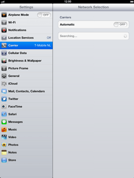 Apple The New iPad - Network - Usage across the border - Step 5