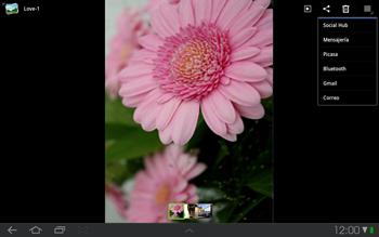 Samsung P7500 Galaxy Tab 10-1 - Bluetooth - Transferir archivos a través de Bluetooth - Paso 6