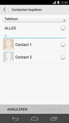 Huawei Ascend P7 4G (Model P7-L10) - Contacten en data - Contacten kopiëren van toestel naar SIM - Stap 8