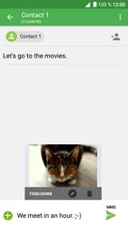 Alcatel Shine Lite - Mms - Sending a picture message - Step 19