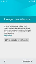 Samsung Galaxy J5 - Primeiros passos - Como ligar o telemóvel pela primeira vez -  9