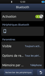 Samsung S8600 Wave 3 - Bluetooth - connexion Bluetooth - Étape 9