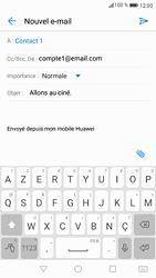 Huawei P9 - Android Nougat - E-mail - Envoi d