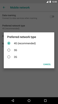 Huawei Nexus 6P - Android Oreo - Network - Change networkmode - Step 8