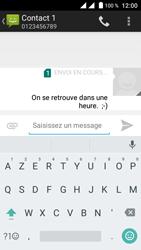 Crosscall Trekker M1 Core - Contact, Appels, SMS/MMS - Envoyer un SMS - Étape 10