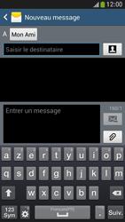 Samsung Galaxy S4 Mini - Contact, Appels, SMS/MMS - Envoyer un SMS - Étape 9