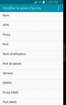 Samsung N915FY Galaxy Note Edge - Internet - Configuration manuelle - Étape 9