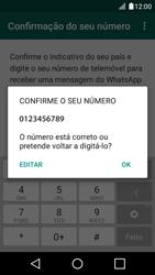 LG K4 - Aplicações - Como configurar o WhatsApp -  7