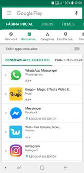 Samsung Galaxy J6 - Aplicativos - Como baixar aplicativos - Etapa 5