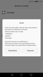 Huawei P9 - E-mail - 032c. Email wizard - Outlook - Étape 5