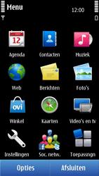 Nokia C7-00 - MMS - afbeeldingen verzenden - Stap 2