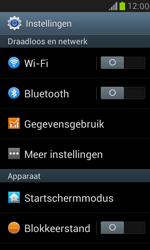 Samsung I8190 Galaxy S III Mini - Netwerk - Handmatig een netwerk selecteren - Stap 4
