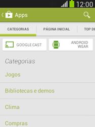 Samsung S5310B Galaxy Pocket Neo - Aplicativos - Como baixar aplicativos - Etapa 6
