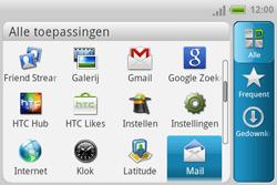HTC A810e ChaCha - E-mail - e-mail instellen: POP3 - Stap 3
