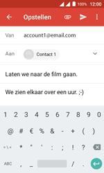 Alcatel Pixi 4 (4) - E-mail - Hoe te versturen - Stap 11