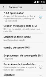 Huawei Ascend Y330 - SMS - Configuration manuelle - Étape 5