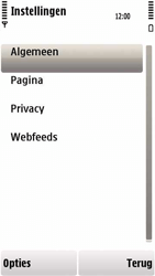 Nokia 5230 - Internet - handmatig instellen - Stap 19