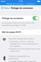 Apple iPhone 4S (iOS 8) - Internet et connexion - Utiliser le mode modem par USB - Étape 8