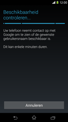 Sony D2303 Xperia M2 - Applicaties - Account aanmaken - Stap 9