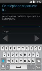 LG F70 - Premiers pas - Créer un compte - Étape 7