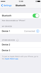Apple iPhone 5 iOS 9 - WiFi and Bluetooth - Setup Bluetooth Pairing - Step 6