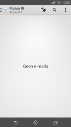Sony Xperia E4g (E2003) - E-mail - Account instellen (POP3 zonder SMTP-verificatie) - Stap 17