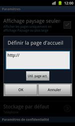 Samsung I8530 Galaxy Beam - Internet - Configuration manuelle - Étape 20