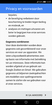 Huawei Mate 10 Lite (Model RNE-L21) - Applicaties - Account aanmaken - Stap 14