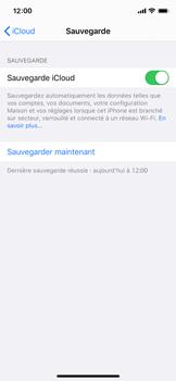 Apple iPhone XS - iOS 13 - Données - créer une sauvegarde avec votre compte - Étape 14