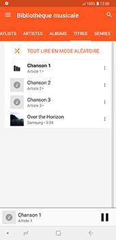 Samsung Galaxy Note 9 - Photos, vidéos, musique - Ecouter de la musique - Étape 9