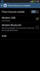 Samsung Galaxy S4 Mini - Internet et connexion - Utiliser le mode modem par USB - Étape 8