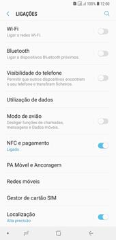 Samsung Galaxy A6 Plus DualSim - Internet no telemóvel - Como ativar os dados móveis -  5