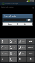 Samsung I9205 Galaxy Mega 6-3 LTE - Voicemail - Manual configuration - Step 8