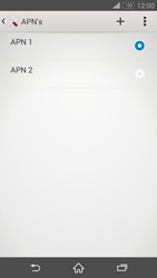 Sony D6603 Xperia Z3 - Internet - handmatig instellen - Stap 17