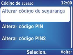 Nokia Asha 201 - Segurança - Como alterar o código de bloqueio de tela do seu celular - Etapa 7