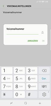 Samsung Galaxy Note 8 (SM-N950F) - Voicemail - Handmatig instellen - Stap 8