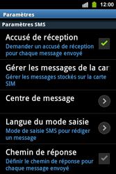 Samsung S5830i Galaxy Ace i - SMS - configuration manuelle - Étape 4
