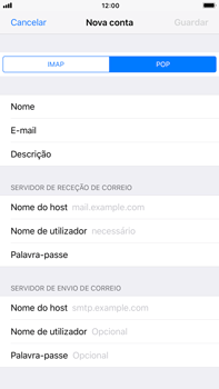 Apple iPhone 8 Plus - Email - Configurar a conta de Email -  12