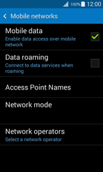 Samsung G357 Galaxy Ace 4 - Internet - Disable data roaming - Step 7