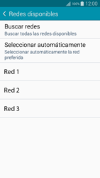 Samsung Galaxy S6 - Red - Seleccionar una red - Paso 7